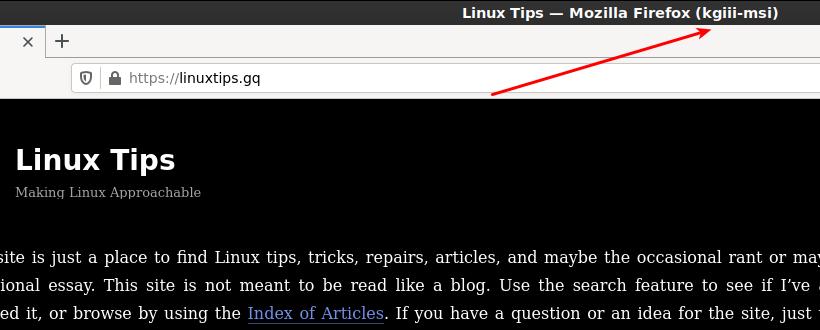Firefox forwarded over SSH