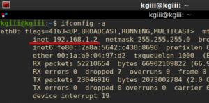 example IP address